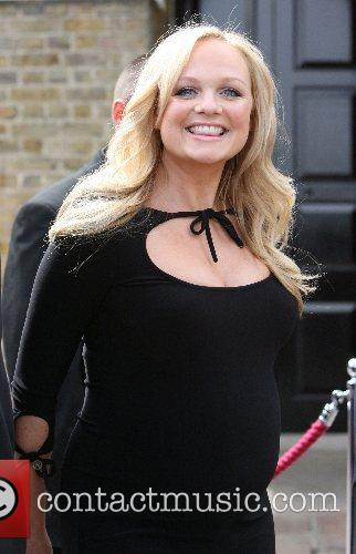 Emma Bunton arrives at the Royal Greenwich Observatory...