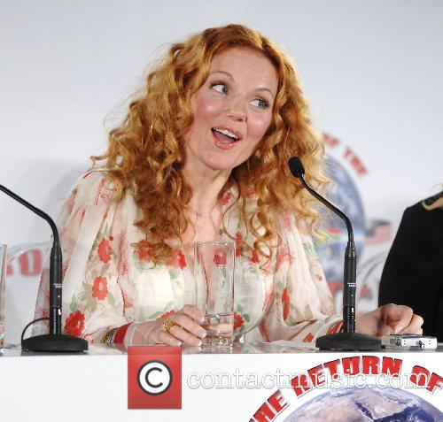 Geri Halliwell The Spice Girls announce their reunion...