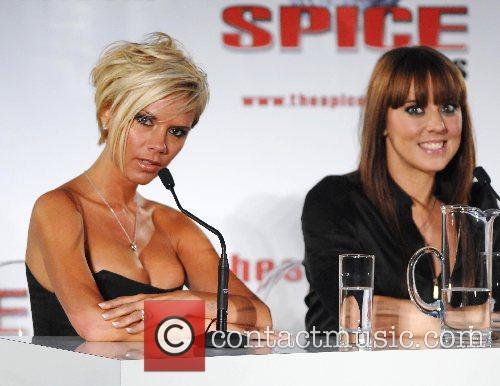 Victoria Beckham and Melanie Chisholm The Spice Girls...
