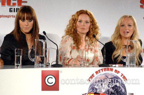 Melanie Chisholm, Geri Halliwell, Emma Bunton The Spice...