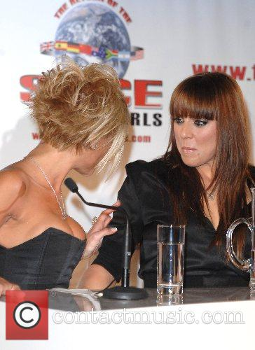 Melanie Chisholm and Victoria Beckham The Spice Girls...