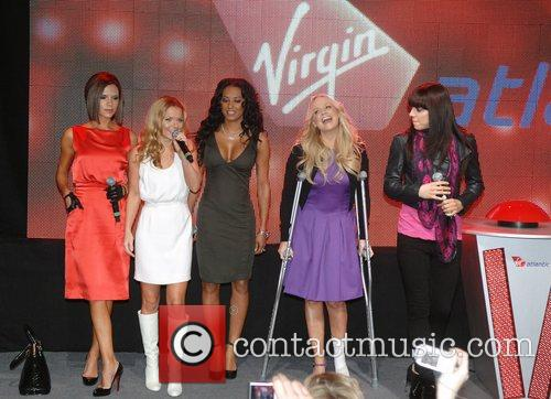 Victoria Beckham, Emma Bunton, Geri Halliwell and Virgin 3