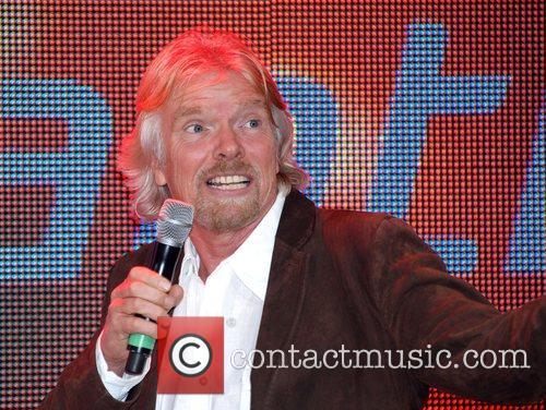 Sir Richard Branson Spice Girls open Virgin Atlantic's...