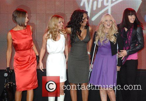 Victoria Beckham, Emma Bunton, Geri Halliwell and Virgin 4