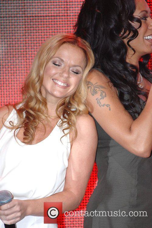 Geri Halliwell, Melanie Brown Spice Girls open Virgin...