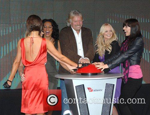 Victoria Beckham, Emma Bunton, Geri Halliwell and Virgin 10