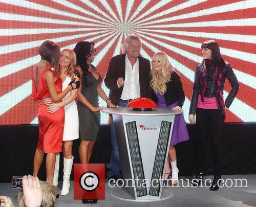 Victoria Beckham, Emma Bunton, Geri Halliwell and Virgin 11