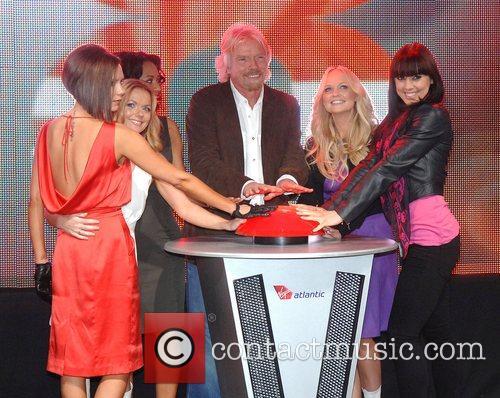 Victoria Beckham, Emma Bunton, Geri Halliwell and Virgin 12