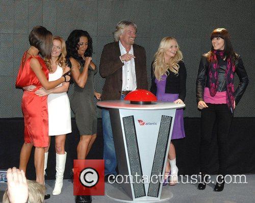 Victoria Beckham, Emma Bunton, Geri Halliwell and Virgin 9