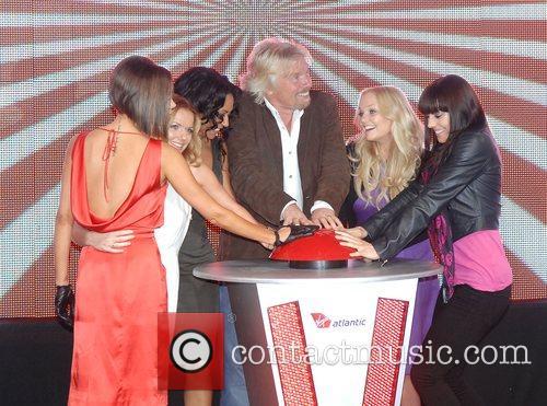 Victoria Beckham, Emma Bunton, Geri Halliwell and Virgin 13