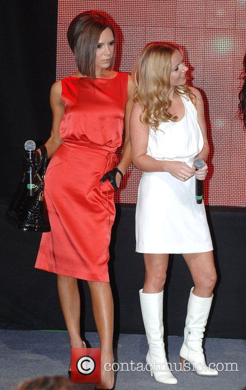 Victoria Beckham, Geri Halliwell Spice Girls open Virgin...