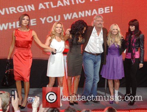 Victoria Beckham, Emma Bunton, Geri Halliwell and Virgin 19