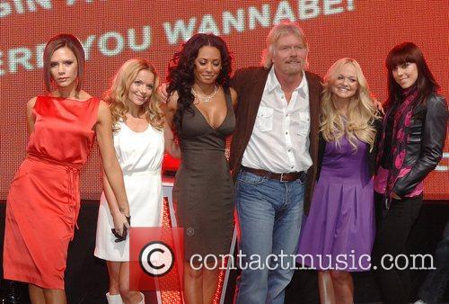 Victoria Beckham, Emma Bunton, Geri Halliwell and Virgin 17