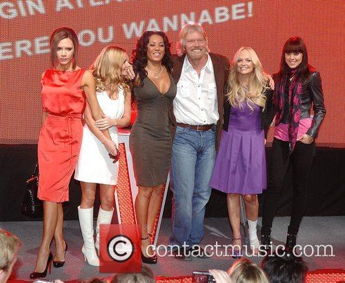 Victoria Beckham, Emma Bunton, Geri Halliwell and Virgin 15
