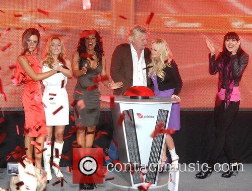 Victoria Beckham, Emma Bunton, Geri Halliwell and Virgin 16