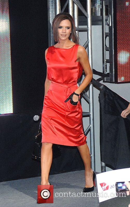 Victoria Beckham and Virgin 10