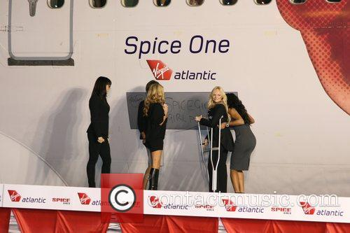 Virgin Atlantic names plane Spice One at LAX