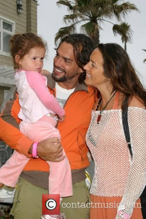 Christian DeLaFuente, Wife Sabrina Ochoa, and daughter Laura...