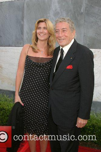 Tony Bennett and wife Susan Crow 2007 Los...