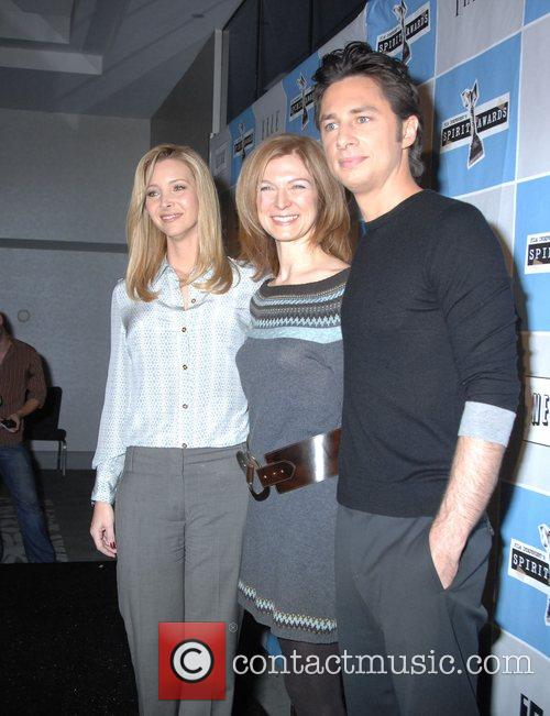 Lisa Kudrow, Dawn Hudson, Zach Braff 2008 Film...