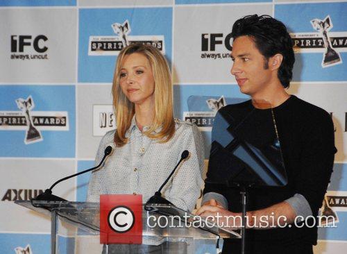 Lisa Kudrow, Zach Braff 2008 Film Indepent's Spirit...