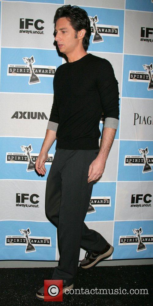 Zach Braff 2008 Film Indepent's Spirit Awards Nominations...