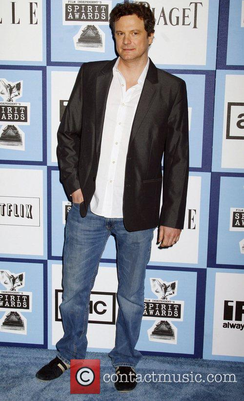 Collin Firth 2008 Film Independent's Spirit Awards at...