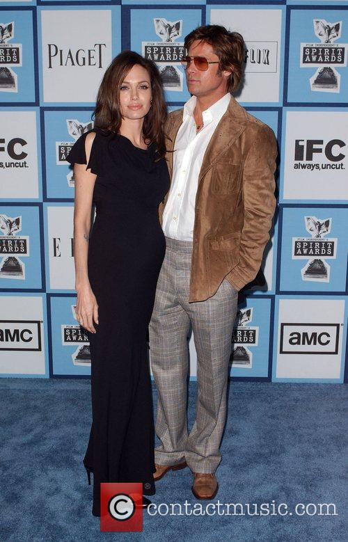 Brad Pitt and Angelina Jolie 2