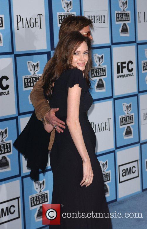 Brad Pitt and Angelina Jolie 3