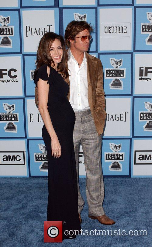 Brad Pitt and Angelina Jolie 1