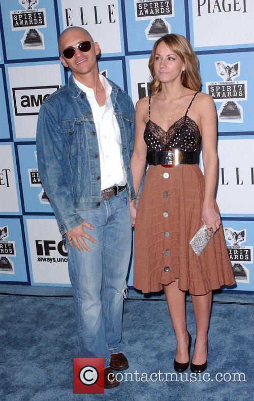Clifton Collins and wife 2008 Film Independent's Spirit...