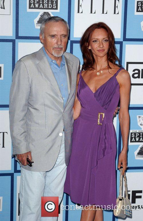 Dennis Hopper and Victoria Duffy 2008 Film Independent's...