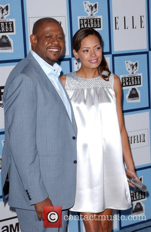 Forest Whitaker and wife Keisha Whitaker 2008 Film...