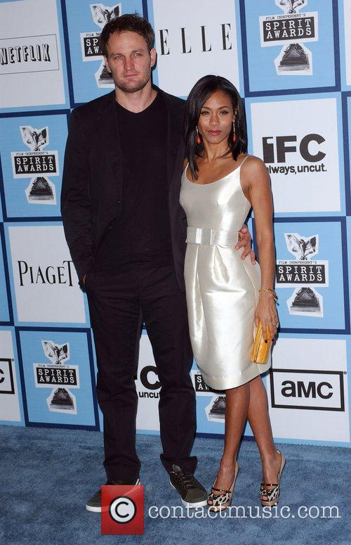 Jason Clarke, Jada Pinkett Smith, Santa Monica Pier