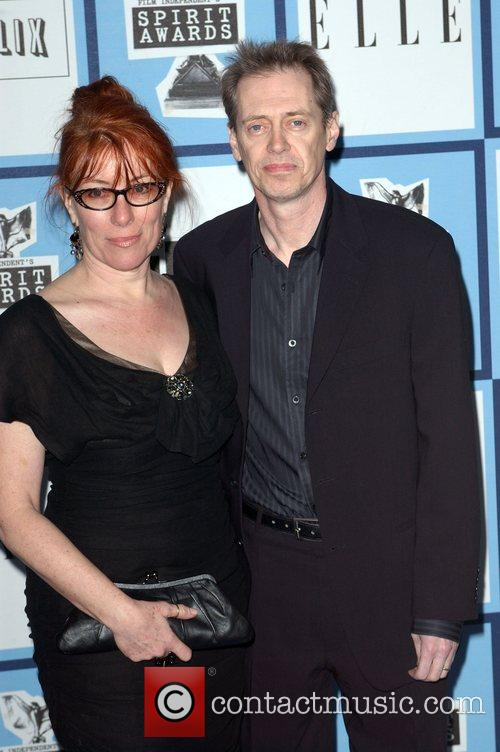 Steve Buscemi and wife 2008 Film Independent's Spirit...
