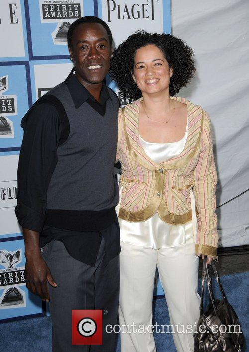 Don Cheadle and Brigid Coulter 2008 Film Independent's...