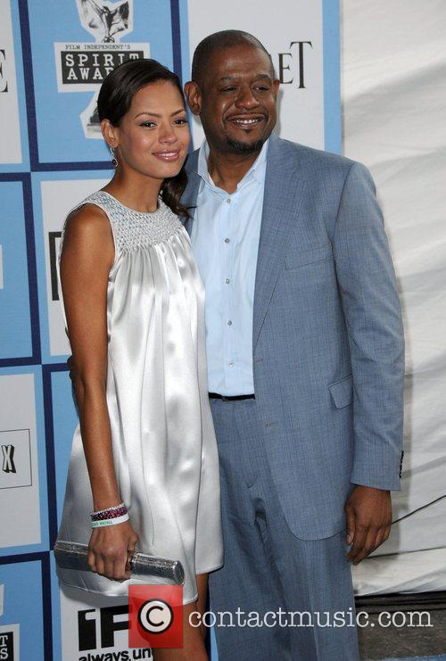 Forrest Whitaker and wife Keisha Whitaker 2008 Film...