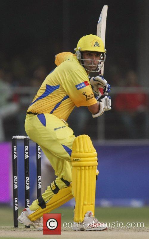 Chennai Super Kings Vidyut Sivaramakrishnan player celebrates victory...