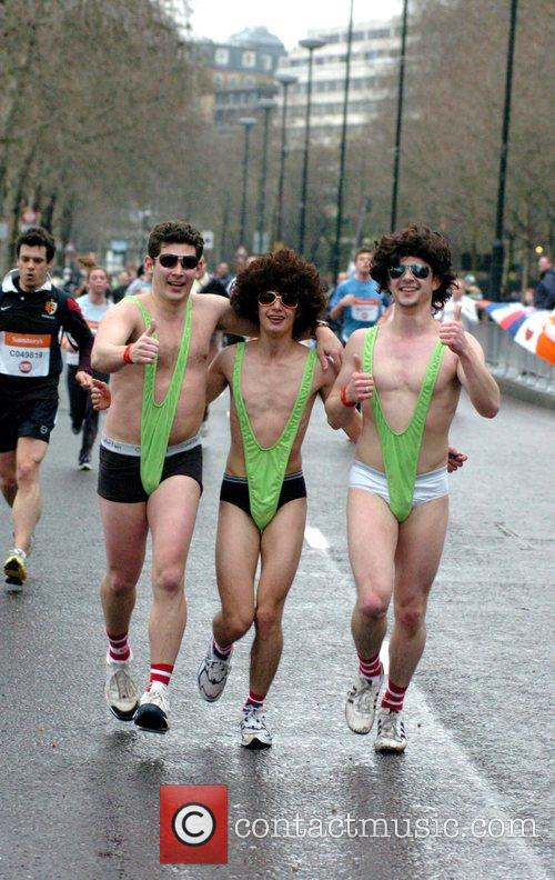 The London Sainsbury's Sport Relief Mile at the...