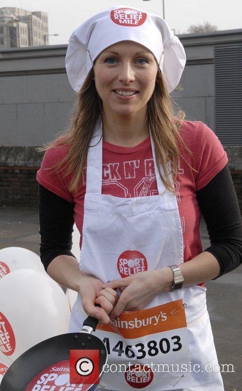 Sport Relief Pancake Race