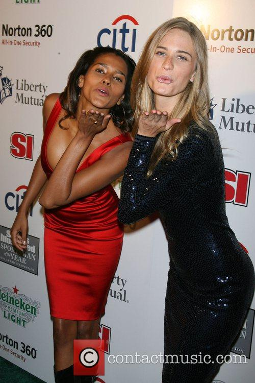 Anna Paula Araujo, Julie Henderson Sports Illustrated celebrates...