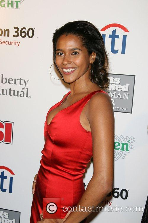Anna Paula Araujo Sports Illustrated celebrates 2007 Sportsman...