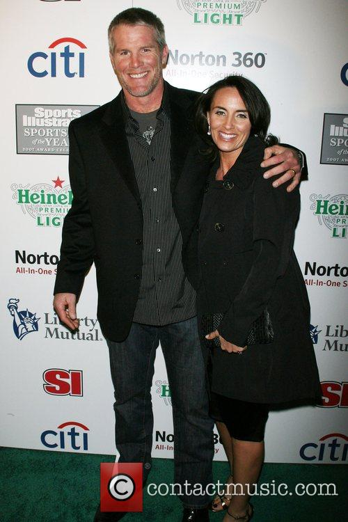 Brett Favre, Deanna Favre Sports Illustrated celebrates 2007...