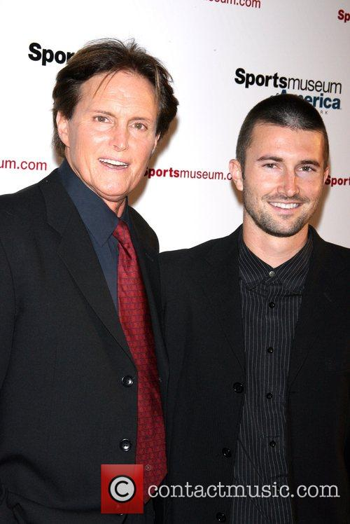 Bruce and Brandon Jenner