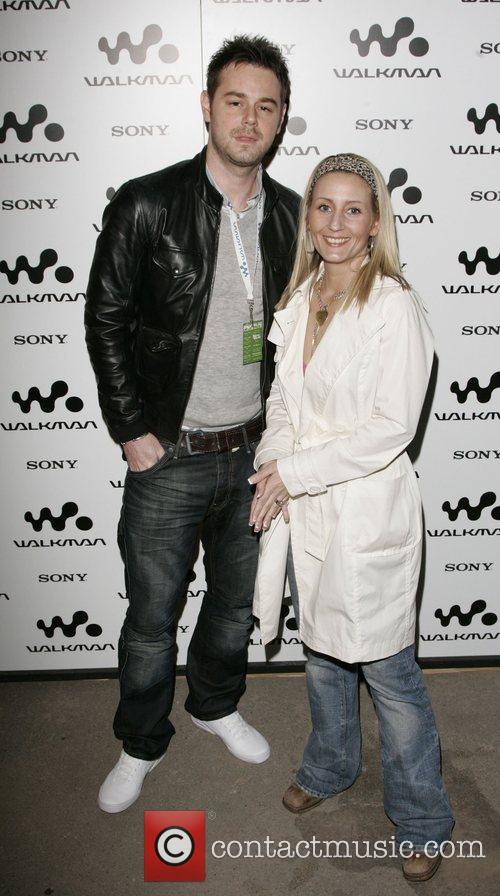 Danny Dyer and guest Walkman Spring Fling party...