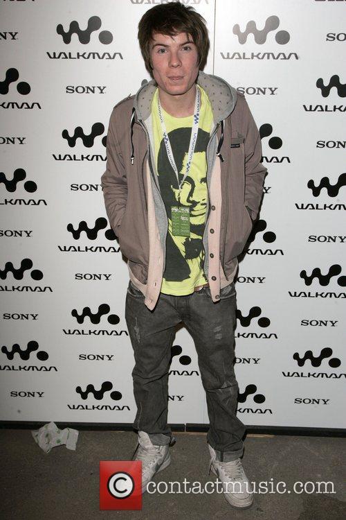 Joe Dempsie Walkman Spring Fling party at Reliance...