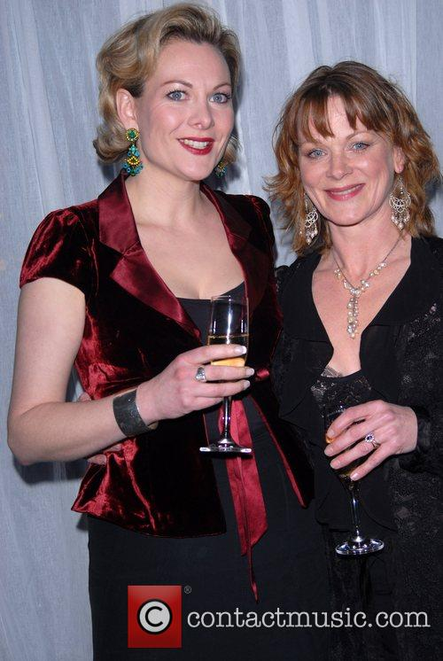 Sara Stewart and Samantha Bond Hampstead Theatre Spring...