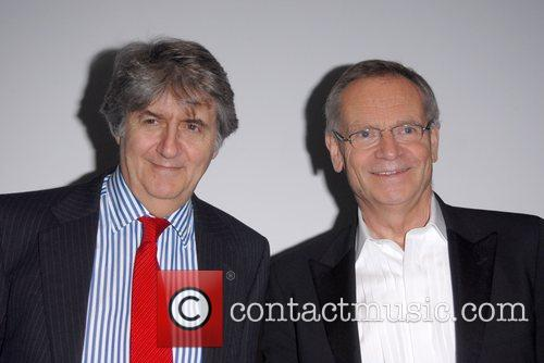 Tom Conti and Jeffrey Archer Hampstead Theatre Spring...