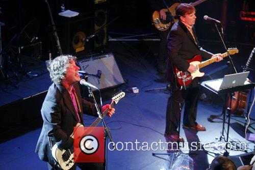 Chris Difford and Glenn Tilbrook of Squeeze perform...