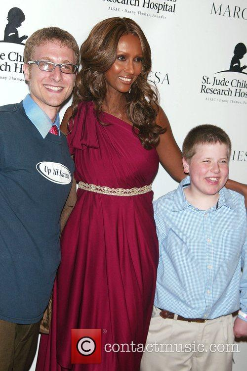 Iman and St. Jude's Patients St. Jude's Children's...